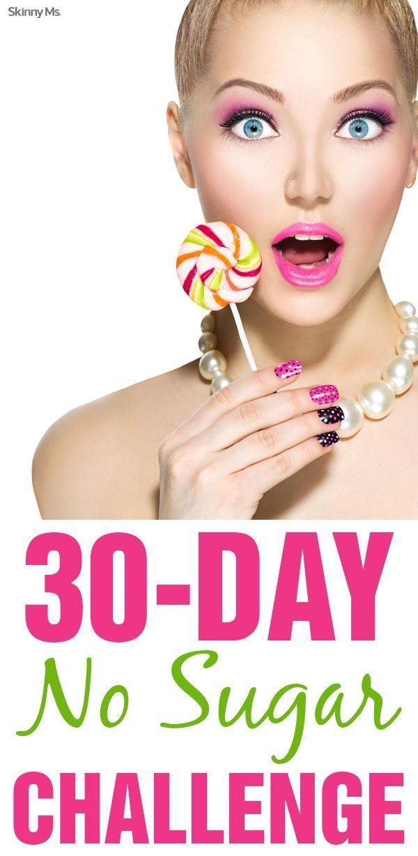 Skinny Ms. challenges you to eliminate all added sugar from your life! with our 30-Day No Sugar Challenge.