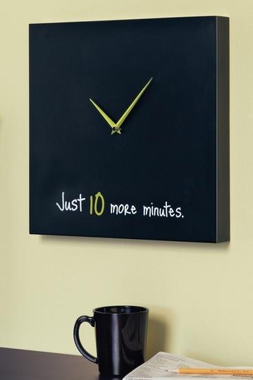 bedroom clock hehe