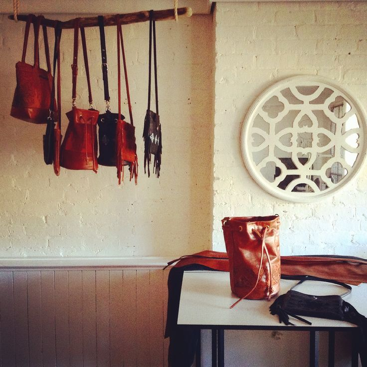 leather studio space, Wolf Blossom. http://wolfblossomleather.etsy.com/