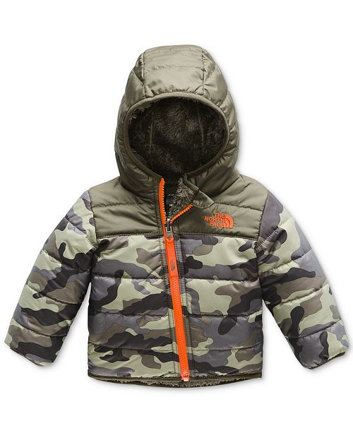 11105d6a4dfa The North Face Baby Boys Reversible Mount Chimborazo Hooded Puffer ...