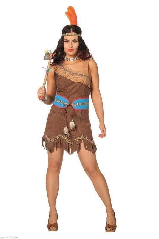 Sexy Kleid Kostüm Squaw Apache Sioux Indianerin Indianerkostüm Indianerkleid | Kleidung & Accessoires, Kostüme & Verkleidungen, Kostüme | eBay!