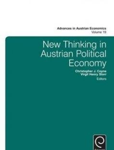 New Thinking in Austrian Political Economy free download by Roger Koppl Virgil Henry Storr ISBN: 9781785601378 with BooksBob. Fast and free eBooks download.  The post New Thinking in Austrian Political Economy Free Download appeared first on Booksbob.com.