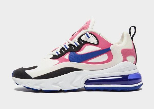 Shop den Nike Air Max 270 React Damen in Weiss in 2020 | Air ...