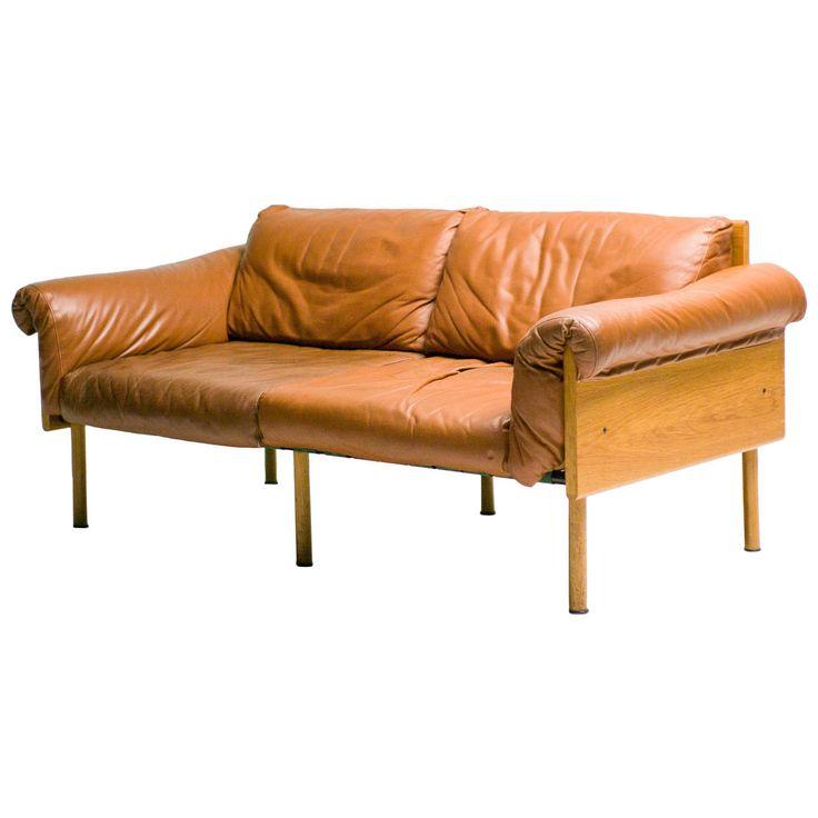 Ateljee Sofa, Two Seater, Yrjö Kukkapuro Finland | 1stdibs.com
