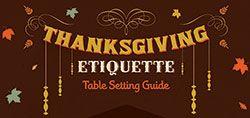 Thanksgiving Etiquette Table S