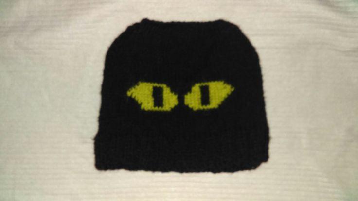 We're watching you handmade Halloween hat