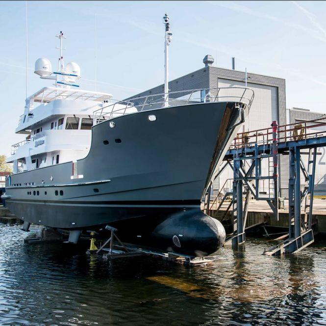Watch: Balk Shipyard launched 31m Motor Yacht Sandalphon