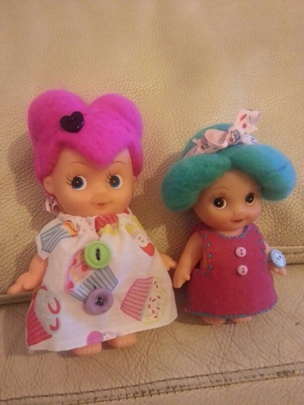 Upcycled dolls