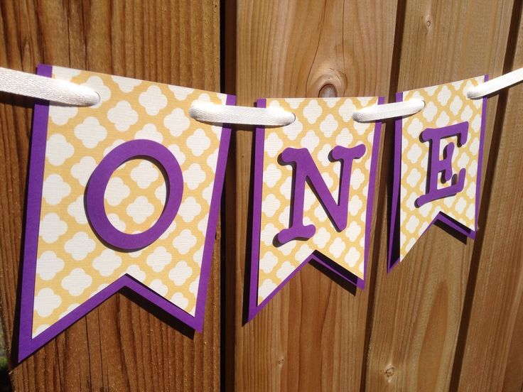custom purple gold ONE high chair banner, ONE, I am 1, I am one, birthday banner, happy birthday banner, first birthday, high chair banner by JaeMakes on Etsy