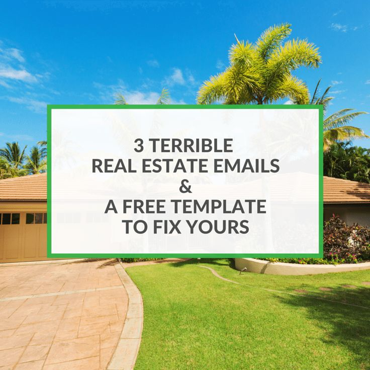 Do you send out thousands of emails and never hear back from your leads? I tear apart 3 agents real estate emails and then give you a free format to follow
