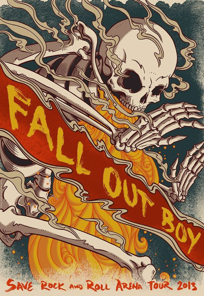 fall out boy symbol | Patrick Stump — Fall Out Boy: Listen to Save Rock and Roll