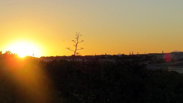 A stunning South African Sunset