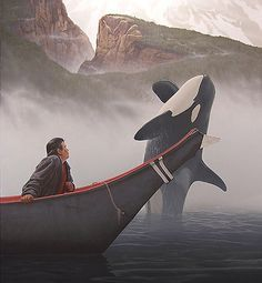 Luna the Whale. One of my favorite documentaries. If you haven't watched 'the whale' you need to watch it right now