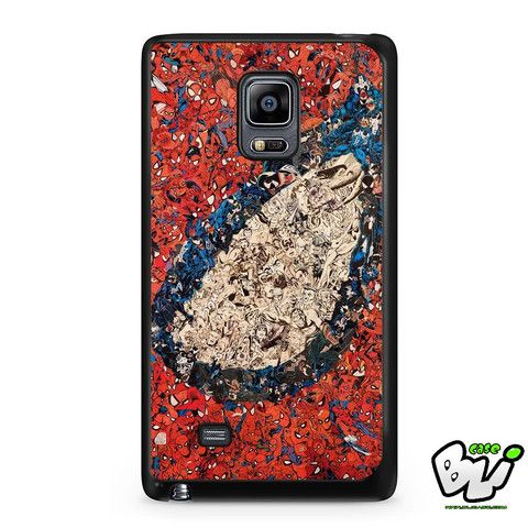 Marvel Comic Spiderman Samsung Galaxy Note Edge Case