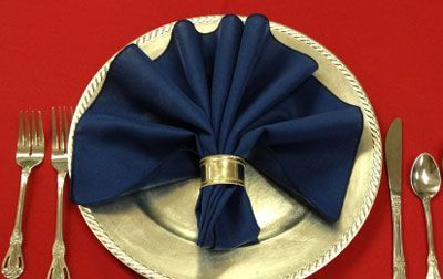 20 Creative Napkin Folding Ideas for the Holidays | Decorating Files | #napkinfolding