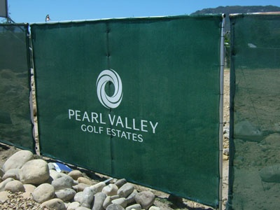 Printed shade cloth - Pictures - Pearl Valley