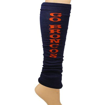 Denver Broncos Ladies Go Team Leg Warmers - Navy Blue