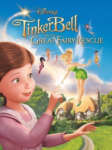Tinker Bell Great Fairy Rescue Disney DVDS