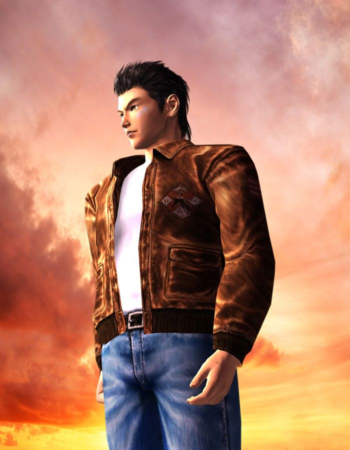 Video Game Art - Shenmue 2 artwork