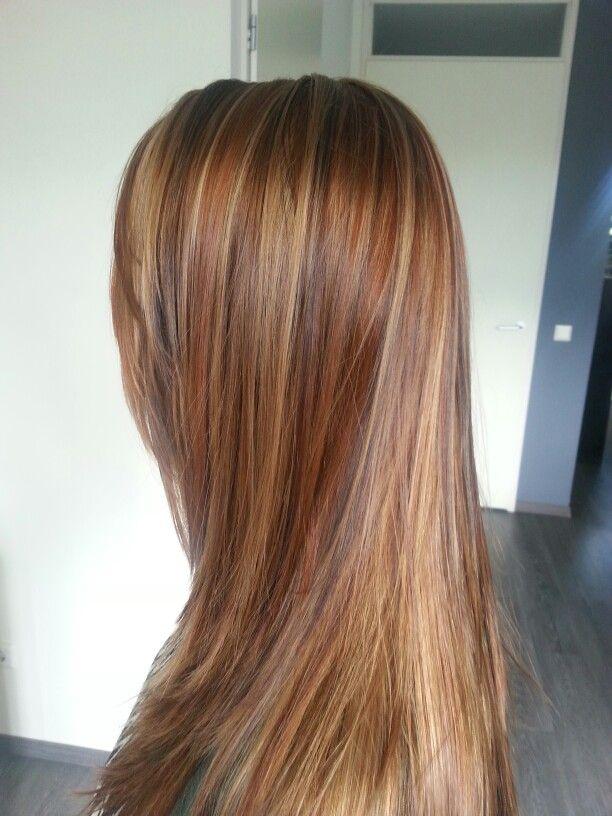 Koper, blond en bruin