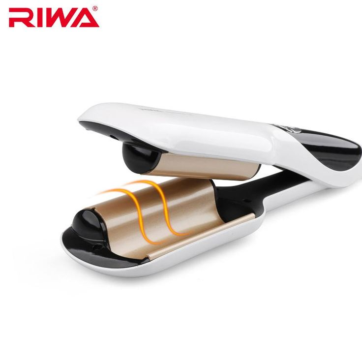 RIWA Electric Curlers Quick Styling Tool Anion LCD Automatic Curling Hair Styler Iron Z6