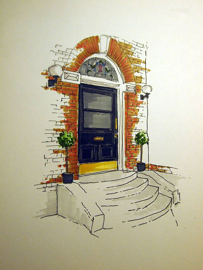 I would feel happy every time I came home to this stoop! www.homemadehouse.co.uk
