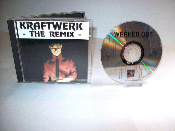 Kraftwerk – The Remix Rare CD 1992 Germany Electro Synth-pop Razormaid Mixes #Kraftwerk #Electronica #Experimental #Avantgarde #SynthPop