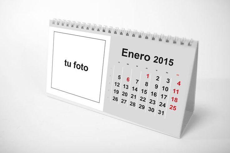 Calendario de mesa 2015 plantilla gratuita para descargar mesas and blog - Calendario de mesa ...