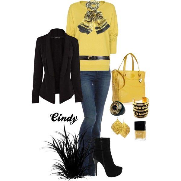 """Black & Yellow"""