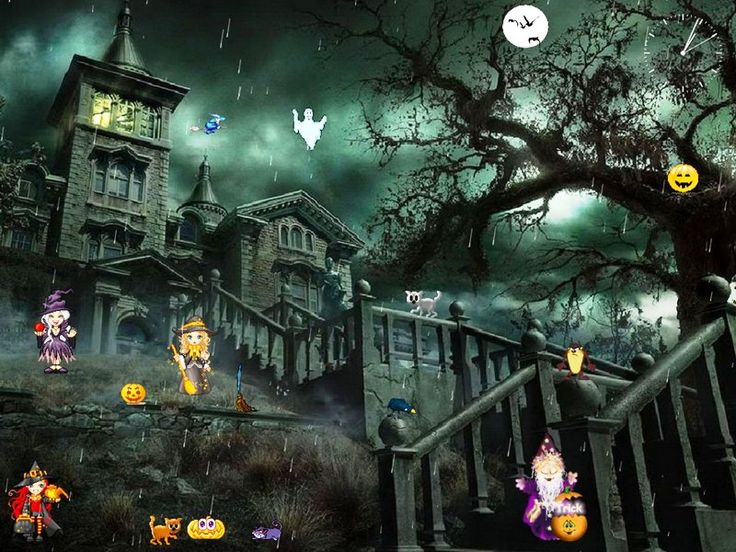 1000  images about halloween screensavers on pinterest