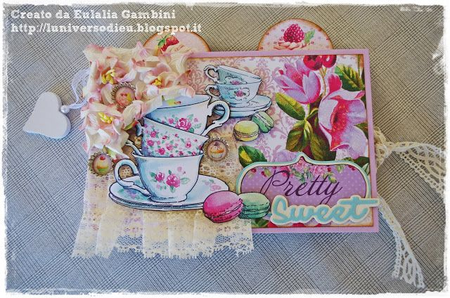 "Afternoon Tea Scrap Berry's Collection - Album ""Sweet Tea"" with video"