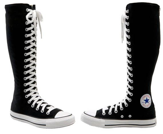 Converse Chuck Taylor XX Hi' Knee High Sneaker. Need these.