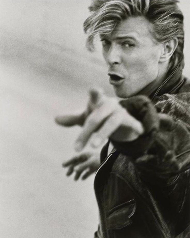 David Bowie (English) (musician) by Herb Ritts