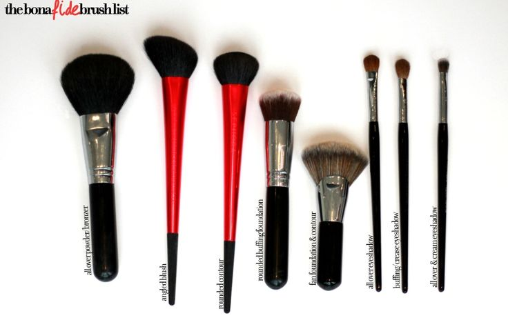A Brush Up On Brushes -- Because You're Doing It Wrong. #makeupbrushes #beauty #tipsandtricks #makeup #blogs