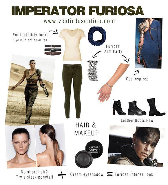 DIY: Mad Max's Imperator Furiosa costume - easy & chic | Disfraz de Furiosa, fácil y chic