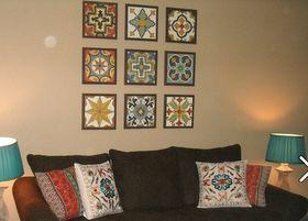 Mexican tile decor idea