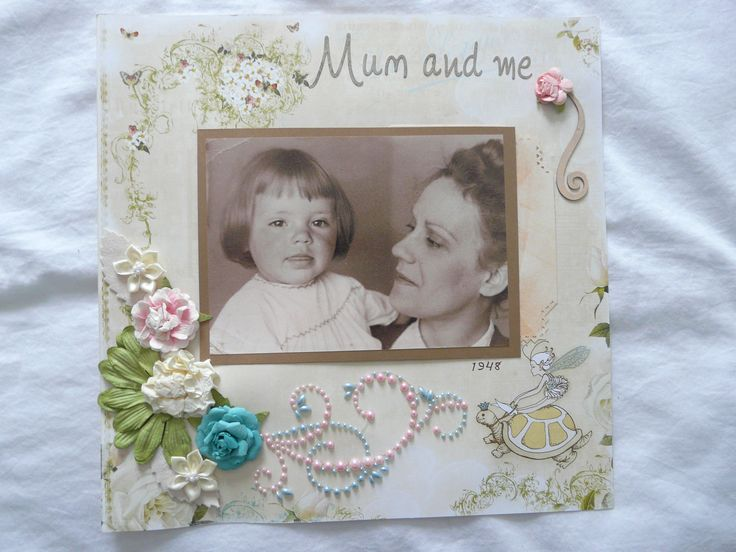 My mom and I, 1948