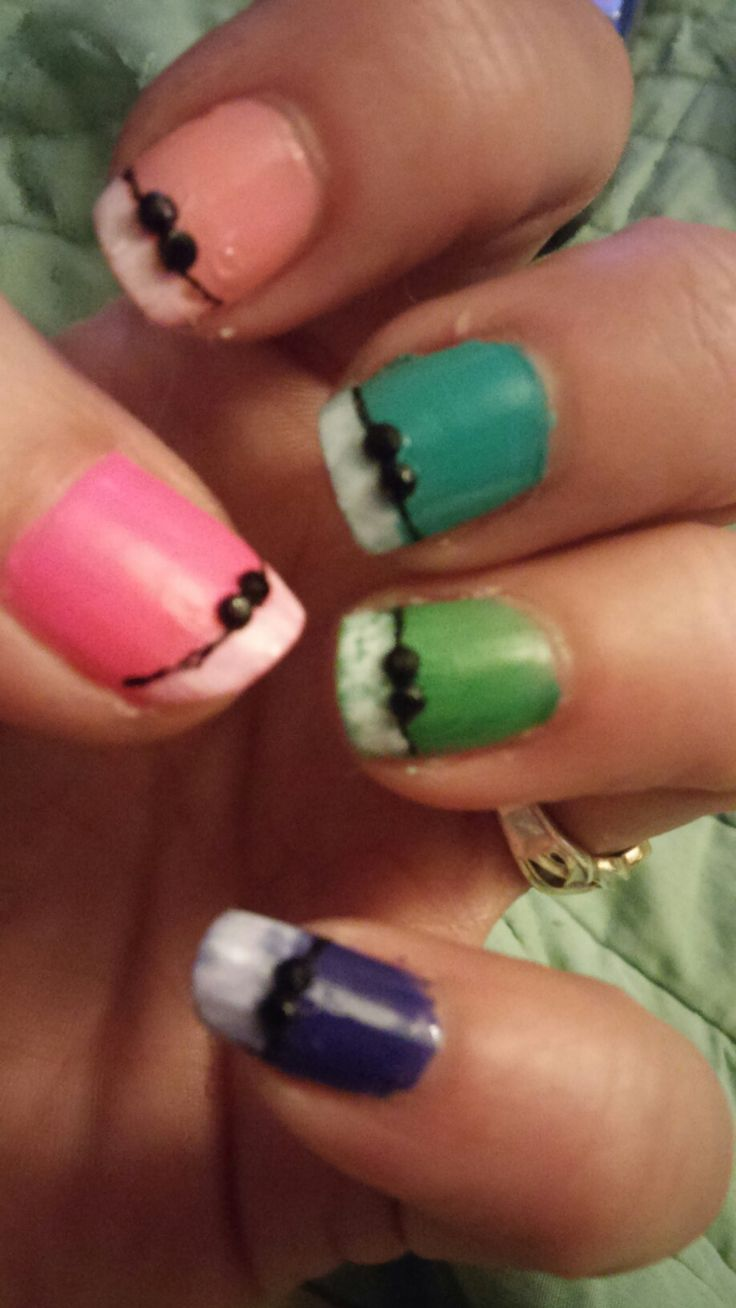 The 163 Best Short Nail Designs I Paint Myself Images On Pinterest