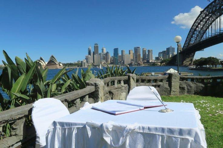 Wedding at Copes lookout, kirribilli , Sydney