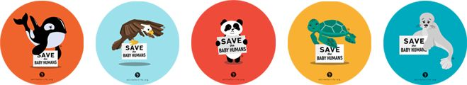 save the baby humans | We ship to US addresses only.