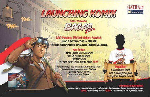 Launching Komik Kisah Petualangan Bagas, 11 Juli 2014 at Kinokuniya Plaza Senayan @kinokuniya_jkt