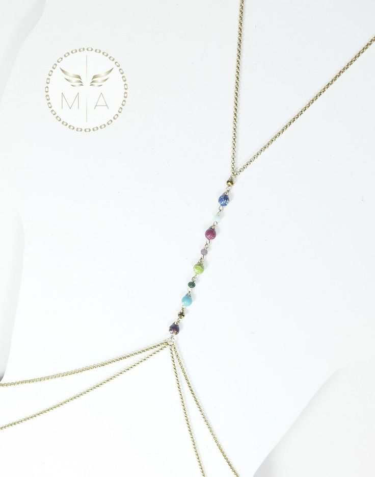 BODY CHAIN DOBLE DE COLORES