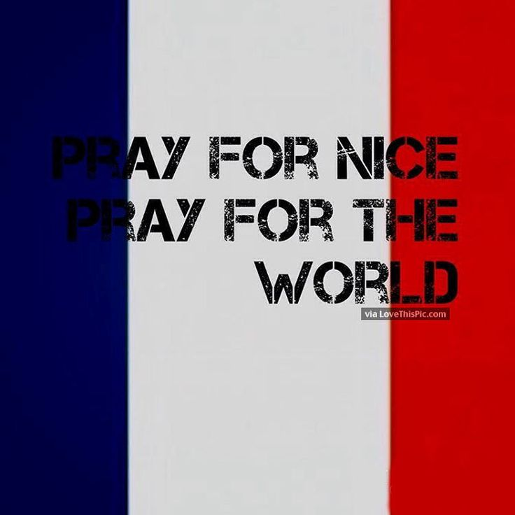 Pray For Nice And The World