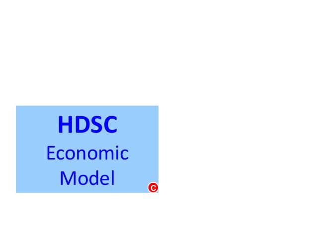 HDSC Economic Model by Daily 10 Minutes via slideshare