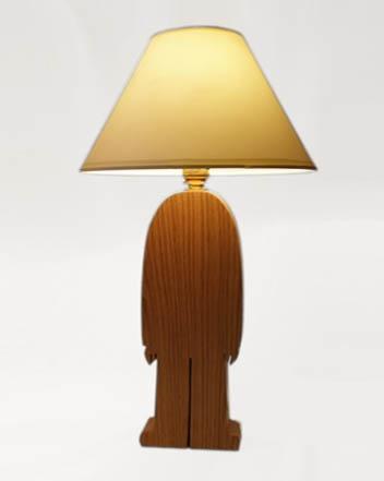 His Lamp