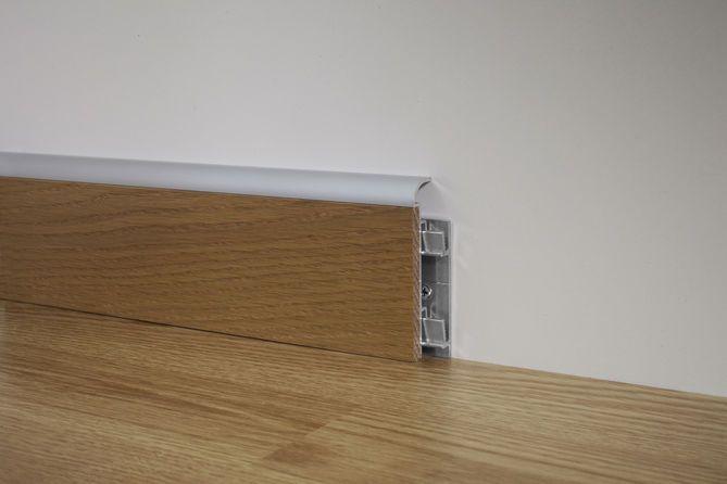 Scopri la linea di #battiscopa Profilpas con inserti in #legno