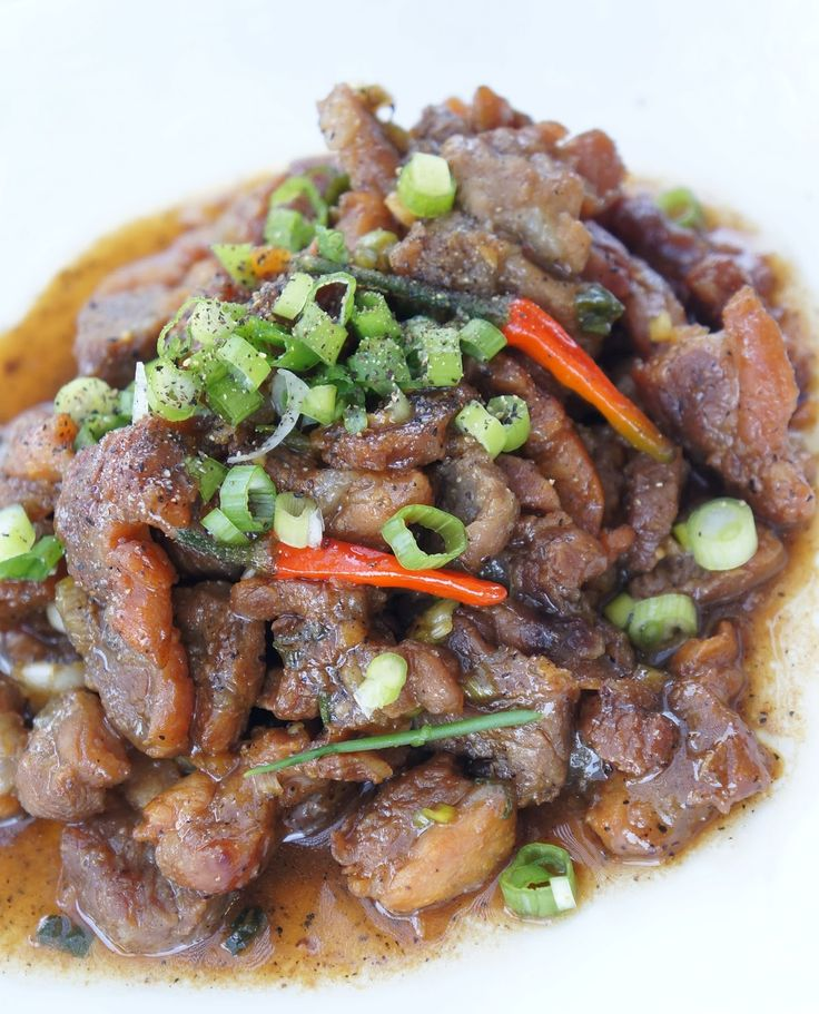 Gourmet by Kat: Black pepper pork or pork in clay pot (Thit kho tieu or thit kho to)
