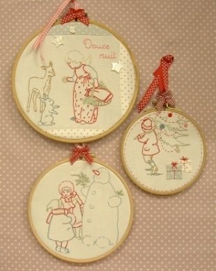 embroidery shop: Bustle Sewing, The Embroidery, Embroidery Shops, Embroidery Christmas, Embroidery Sewing, Stitcher Christmas, De Bordar, Stitches Embroidery, Coeur Broderie