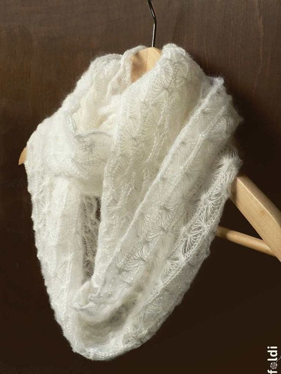 Magnificent Lace Cowl Knitting Pattern Pattern - Easy Scarf Knitting ...