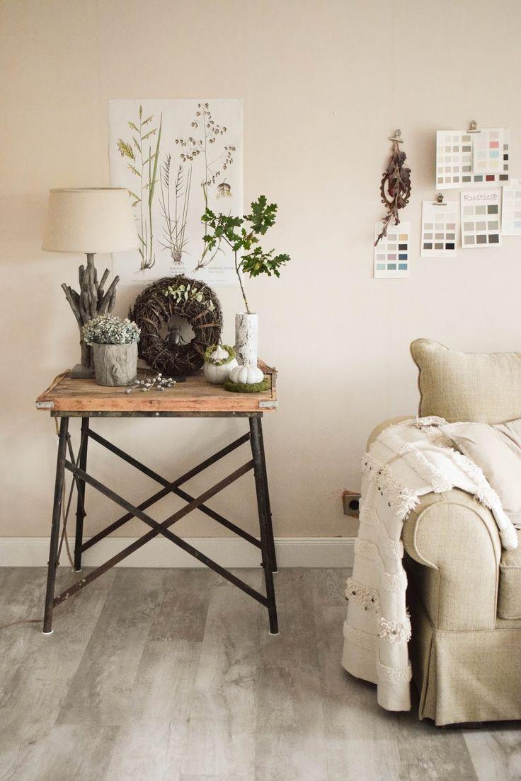 deko herbst f r konsole und sideboard herbstdeko dekoidee. Black Bedroom Furniture Sets. Home Design Ideas